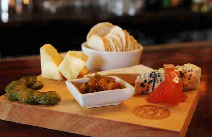 CGR Merchants food offering cheese board