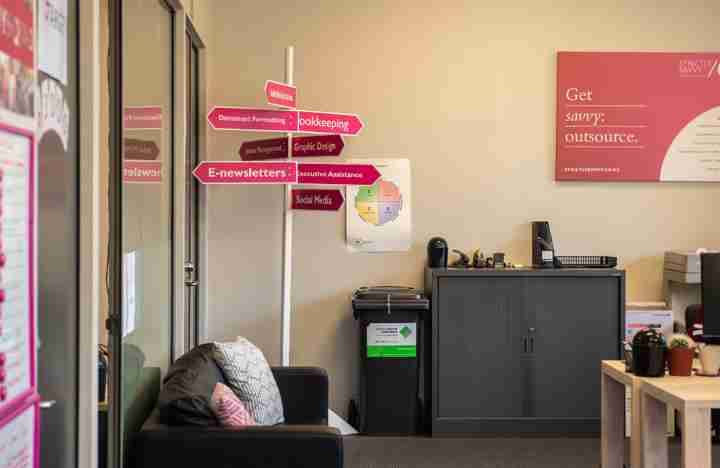 Strictly Savvy breakout area