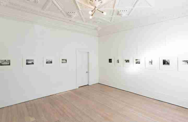 Gallery floor at McLeavey Gallery on Cuba Street