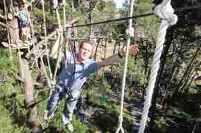 Adrenalin Fores rope bridge