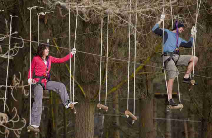 Adrenalin Forest ropes