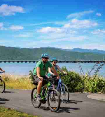 BE Green Jersey Remutaka Cycle Trail