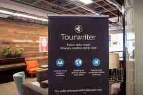 BUSINESS Tourwriter office cribs corporate post office square loft wood interior design space office 2020