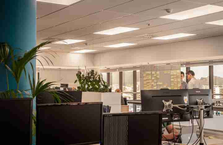 Business corporate Volpara Office space blue wellington view harbour window9 v2