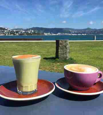 Chocolate Fish Cafe coffees sunny day image credit roznik