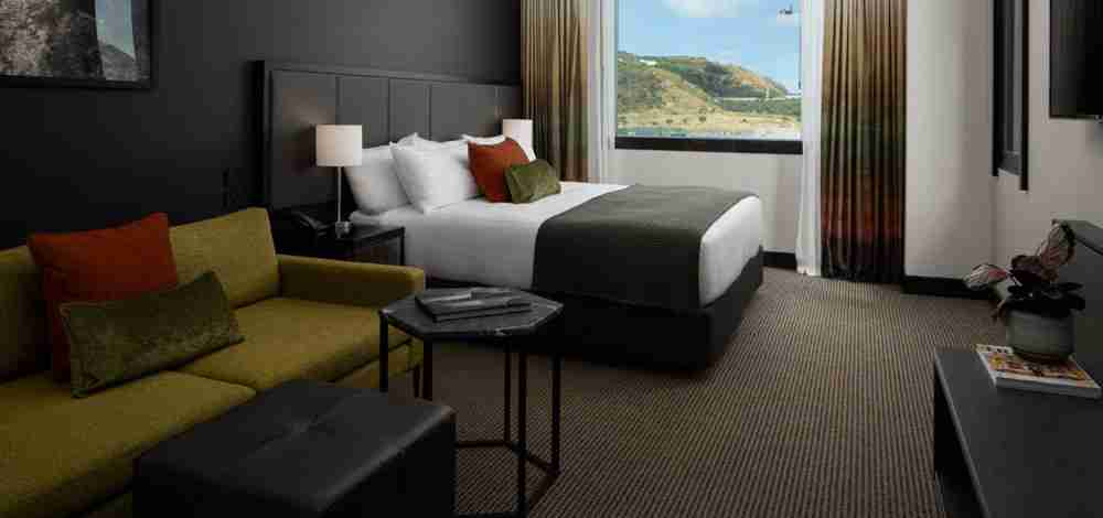 Rydges Wellington Airport room view