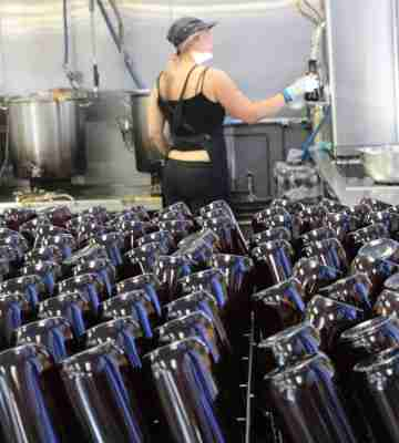 Six Barrel Soda production process