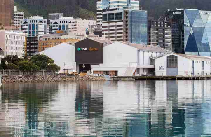 TSB Arena on the Wellington waterfront