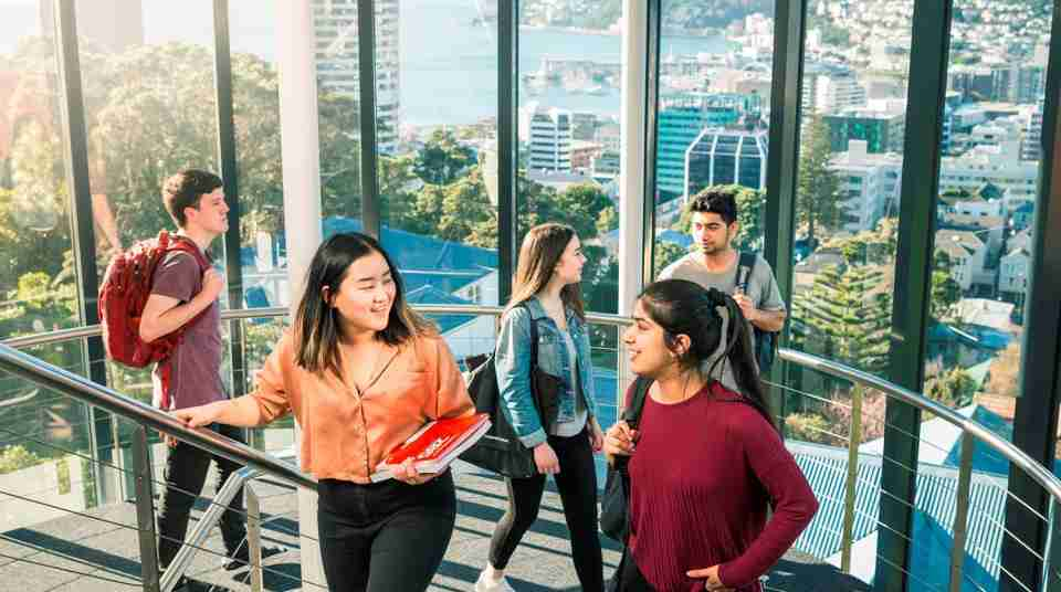 Victoria University of Wellington open day