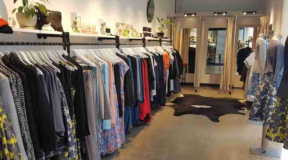 Shop floor at Deryn Schmidt on Lombard Street