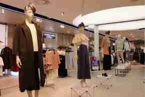 Shop floor at David Jones