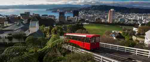 Photographer - Richie White | Wellington Cable Car