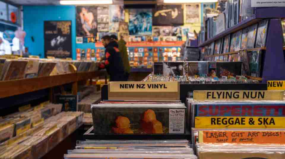 Retail Slow boat records Cuba street Johnny Hendrikus 2020 music store shopping vintage second hand 3 resized
